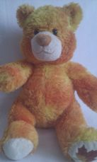 Adorable Rare 'Autumn' Retired Seasons Build-a-Bear Maple Leaf on Nose 2007